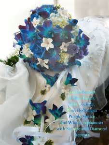 blue flowers for wedding blue wedding flowers the wedding specialists