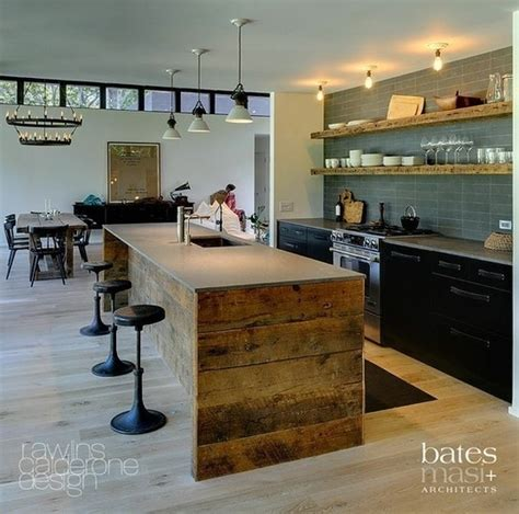 elements at home kitchen benchtop ideas concrete