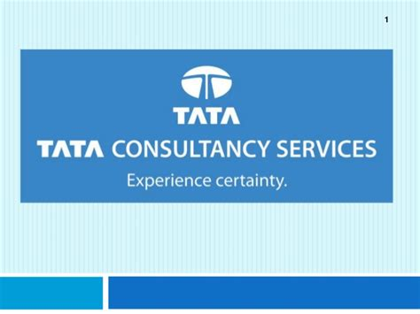 Company Analysis Tcs Tata Consultancy Services Tcs Ppt Template
