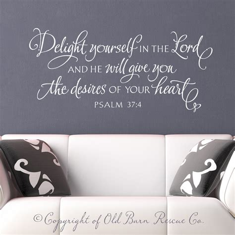 wall stickers bible verses christian wall decal wall sticker delight by