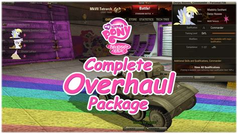 pony overhaul package mods addons world of tanks official forum 0 9 3 my little pony overhaul package at world of tanks