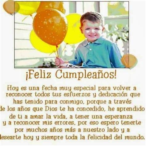 imagenes y frases de cumpleaños para un hijo 17 best images about feliz cumplea 241 os happy b day on