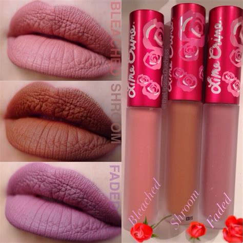 Lime Crime Velvetines the lipstick duchess lime crime velvetines faded