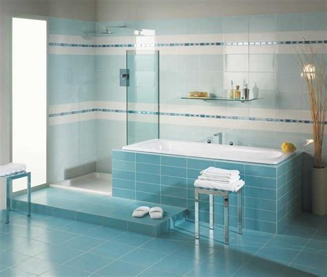Blue Bathroom Tiles Ideas Bathroom Blue Wall Tile Designs Ideas Home Design Inspiration
