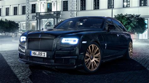 rolls royce wraith modified german tuners modified our rolls royce ghost with gold