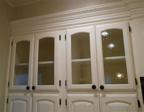 Glass Door Kitchen Cabinet Glass Cabinet Doors Casual Cottage