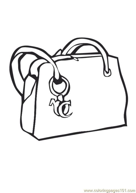 coloring pages purse entertainment gt shopping free