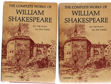 complete works of shakespeare books the complete works of william shakespeare two volume set