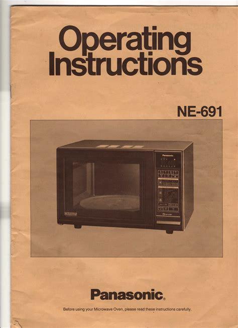 Panasonic The Genius Microwave Instructions Bestmicrowave