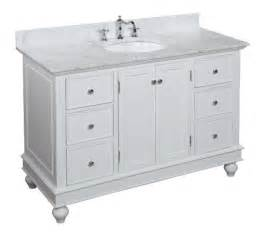 Pressleycjames cheap bella 48 inch bathroom vanity carrera white