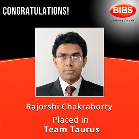 Mba With Placement In Uk by Mba Placement Kolkata Rajorshi Chakraborty Placed In Team