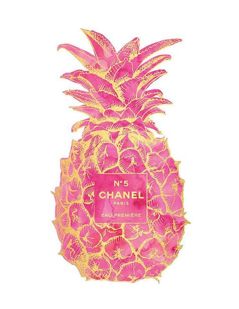 Pineapple Home Decor by Best 25 Chanel Background Ideas On Pinterest Fashion