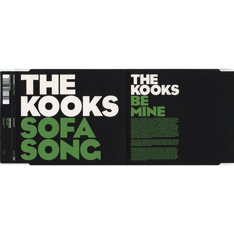 Kooks Sofa Song by Sofa Song Cd Single The Kooks Free Mp3