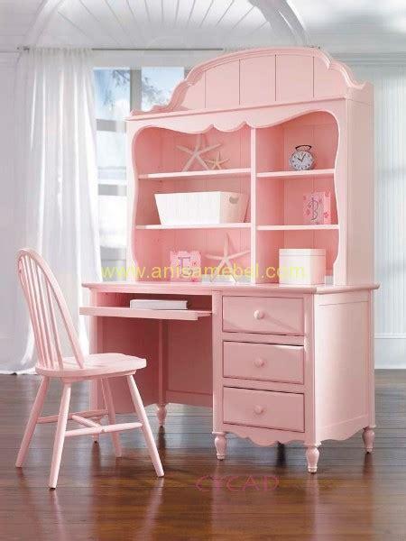meja belajar warna pink anisa mebel jepara pilihan