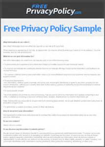 the importance of privacy policy