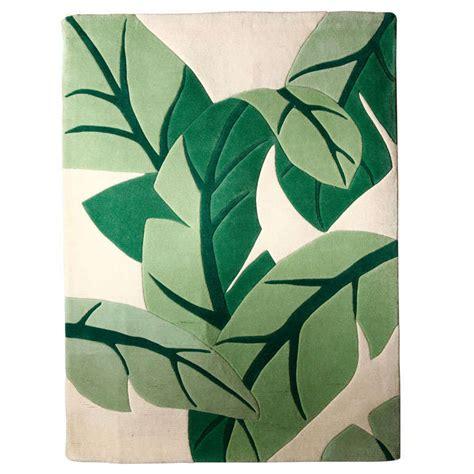 Hawaiian Print Area Rugs Vintage Stark Carpet Tropical Print Area Rug At 1stdibs