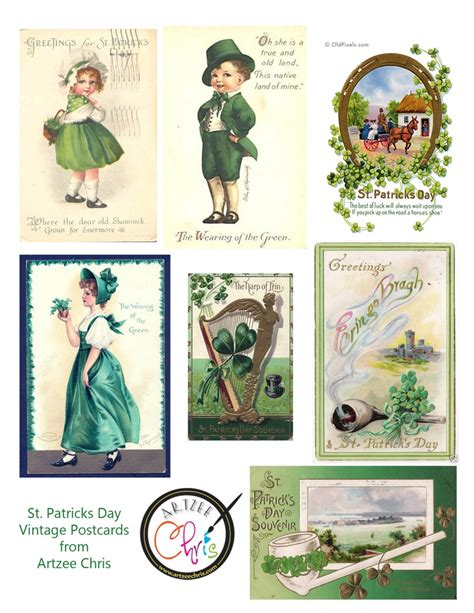 printable postcard sts 12 best images about printable st patrick s day on
