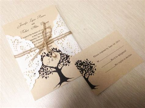 diy wedding invitations rustic oxsvitation