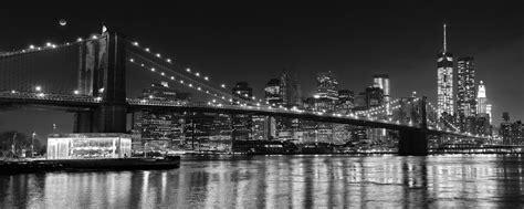 quot bridge at quot black and white new york city