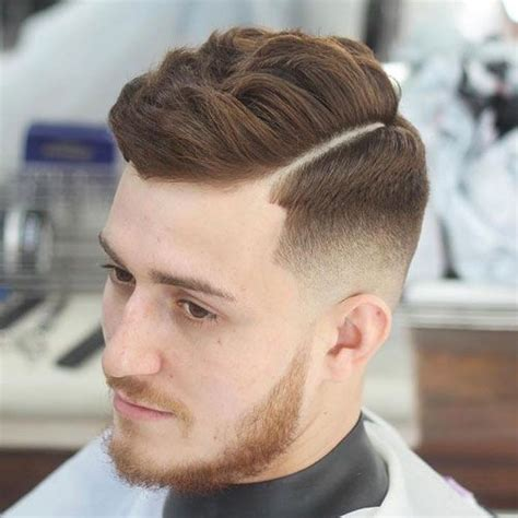 shaved parting haircut men s side part hairstyles and parted haircuts see more