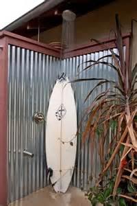 corrugated metal outdoor shower corrugated metal