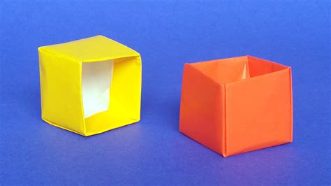 Origami Cube Box - origami cube images craft decoration ideas