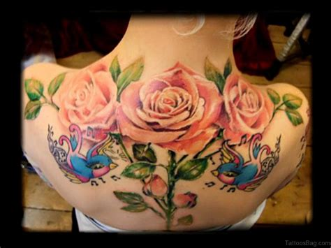 rose tattoo on back 61 lovely tattoos for back