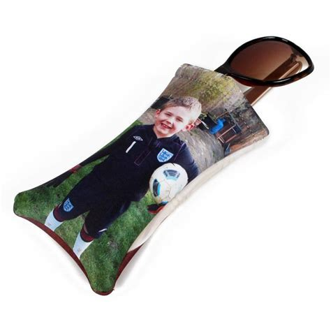 Softcase Custom Foto personalised glasses pouch custom photo glasses bags of