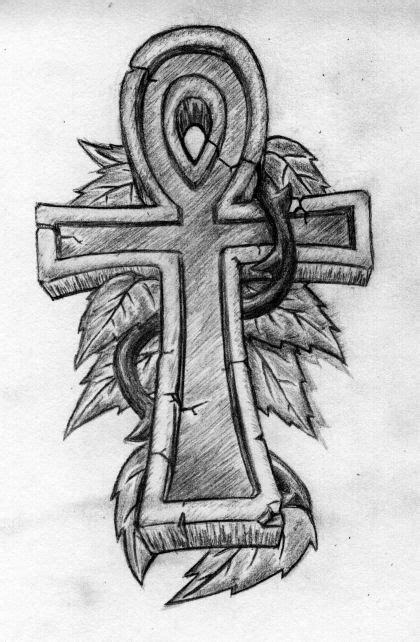 stone cross tattoo designs ankh tattoos and designs page 65