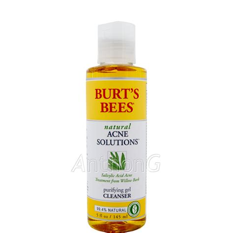 How Does Detox Acne Last by Burt S Bees Acne Purifying Gel Cleanser Sale