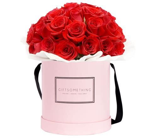 s day flowers silver box roses with classic flower box gift something