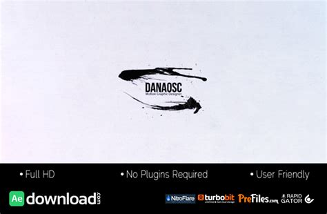videohive ink motion free download free after effects