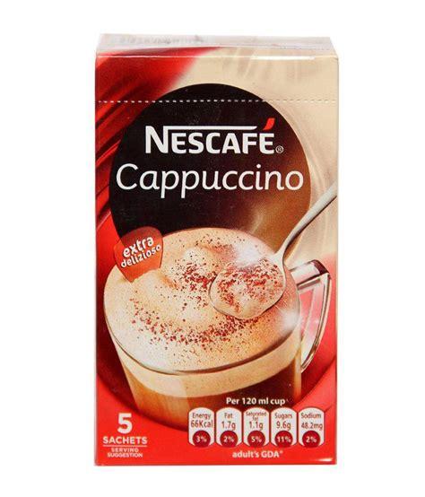 Nescafe 3in1 Original 30 X 17 5gr nescafe cappuccino pads