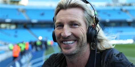 au savage hairstyle wise words robbie savage on ponytails at 40 dealing with
