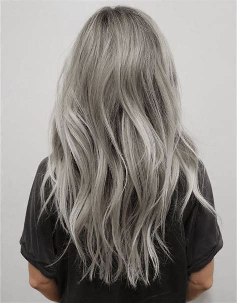 best hairstyle for hiding gray hair 17 best ideas about gray hair colors on pinterest silver grey hair gray hair and silver hair