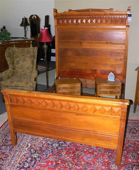 full beds for sale solid maple full size eastlake bed for sale antiques com classifieds