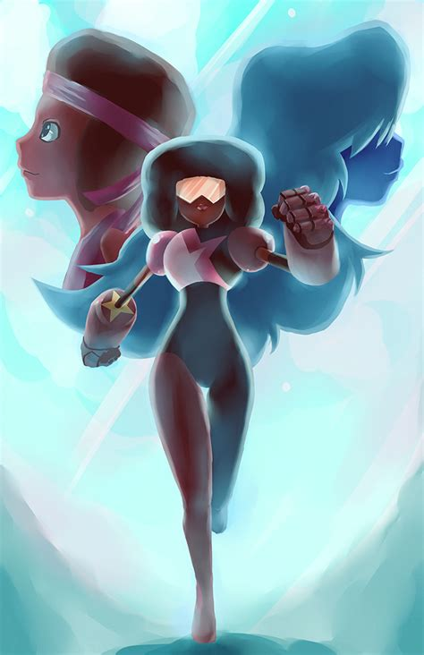 imagenes anime de steven universe garnet steven universe by squigi on deviantart