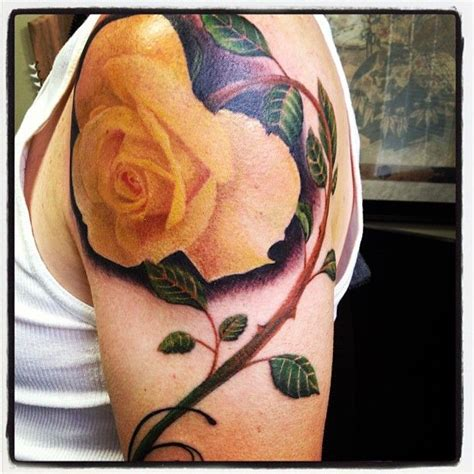tattoo pictures of yellow roses 132 best tattoos by jared preslar images on pinterest
