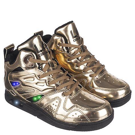 la gear l a lights youth gold sneaker shiekh shoes