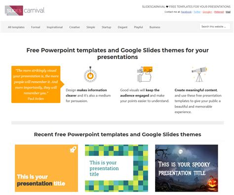 google slides themes slides carnival free google slides and powerpoint templates from slides