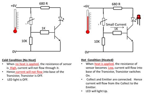 sensor resistor circuit how thermistor works in a circuit electronics