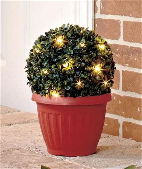 lighted outdoor topiary lighted topiary outdoor 4 5ft pre lit outdoor artificial