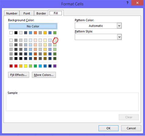Cara Membuat Tabel Warna Html | cara membuat warna baris tabel berseling seling di excel