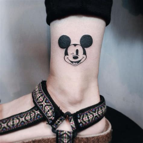 small mickey tattoo 65 classic mickey and minnie mouse ideas