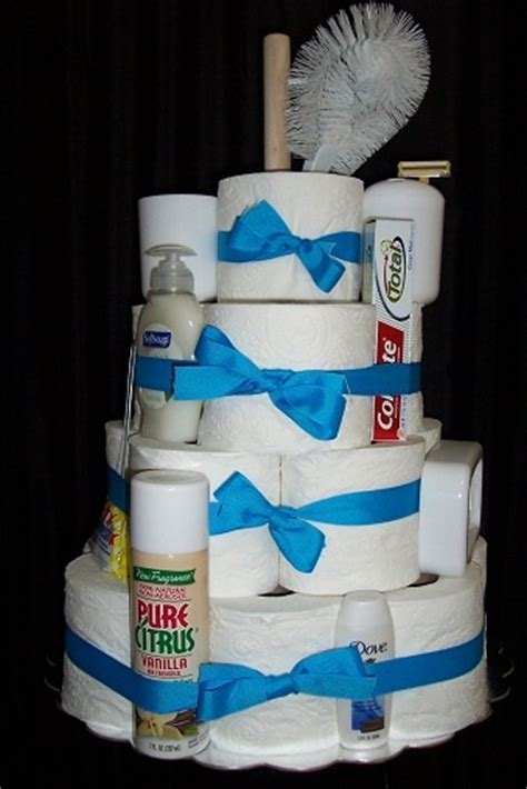 bathroom gift ideas unique housewarming gift toilet paper cake includes