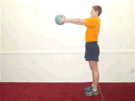 Standing Abdominal Twist Exercise Protein Muscle Building