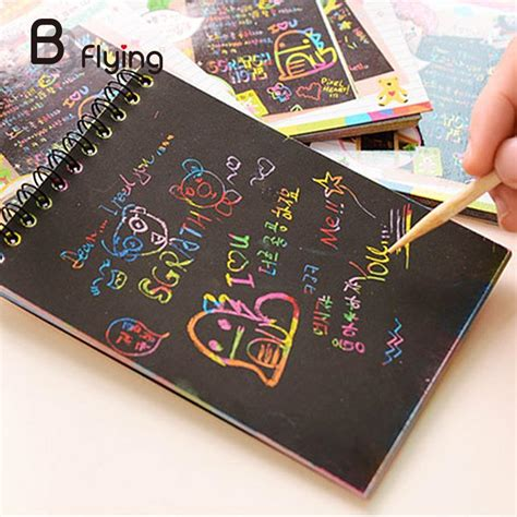 Scratch Note Bamboo Stick Magic Notes Unik 10 X 14 Cm popular scratch paper buy cheap scratch paper lots from china scratch paper suppliers on