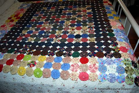 How To Make Yo Yos For A Quilt by Homemaker S Journal Retro Yo Yo Quilts