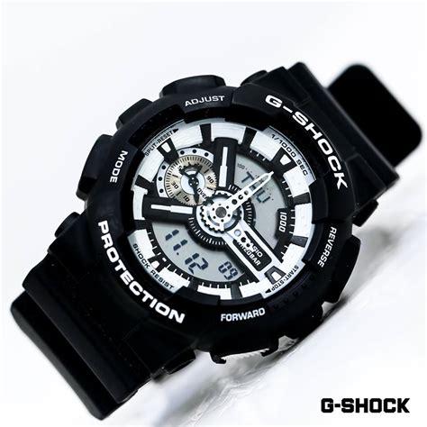 G Shock Ga 100 Black List White g shock black white ga 110bw 1ae ga100bw 1a