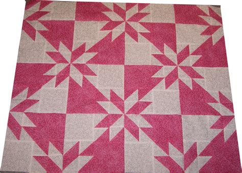 quilt pattern hunters star all things crafty hunter s star progress baby or lap